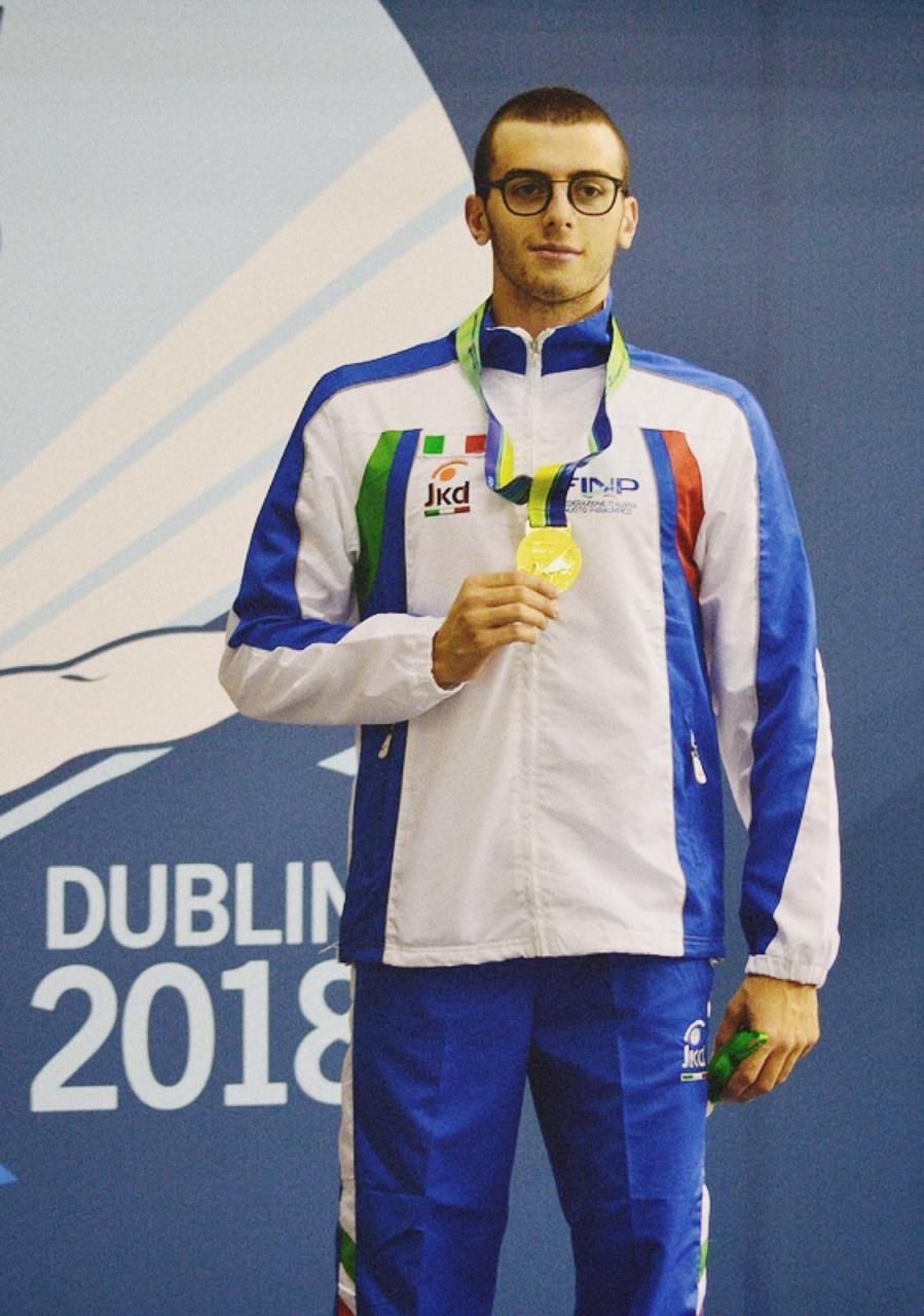Federico Bicelli campione europeo 100 m sl